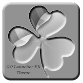 Gray GO Launcher EX Theme