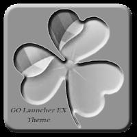 Gray GO Launcher EX Theme 1.0