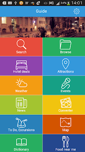 Lima Tourist Guide Map Hotels - screenshot thumbnail