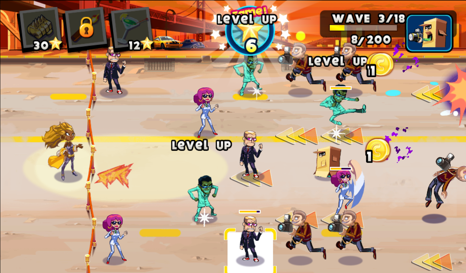 Stars vs. Paparazzi - screenshot