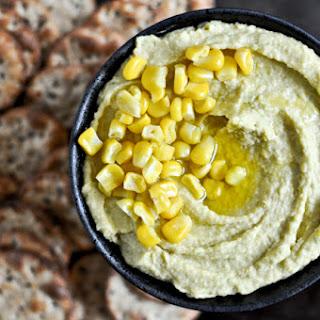 Sweet Corn + Jalapeno Hummus