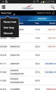 Cambodia Airports- screenshot thumbnail