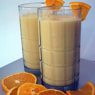 Orange Julius with Banana.