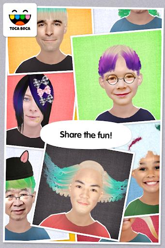 Screenshot for Toca Hair Salon Me in Hong Kong Play Store