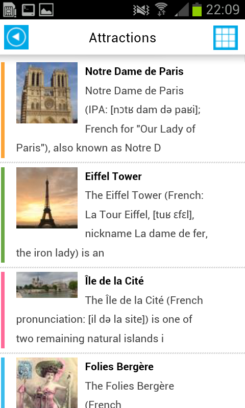 Paris Offline Map for Tourists - screenshot