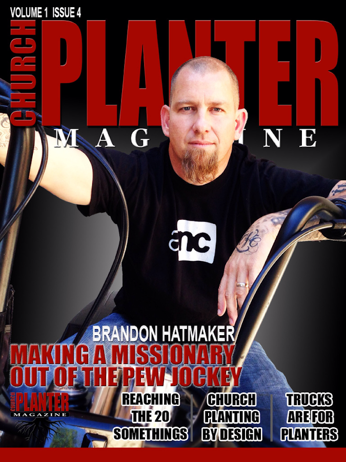 Church Planter Magazine- screenshot