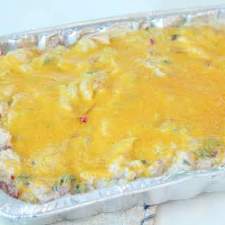 King Ranch Chicken Enchiladas.