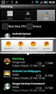 Watchdog Task Manager- screenshot thumbnail