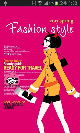 [토스] 몰리의 패션 스타일 테마 라이브 배경화면