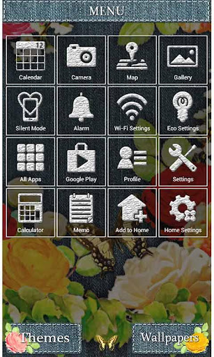 Cute Theme-Denim Floral- 1.0 Windows u7528 3
