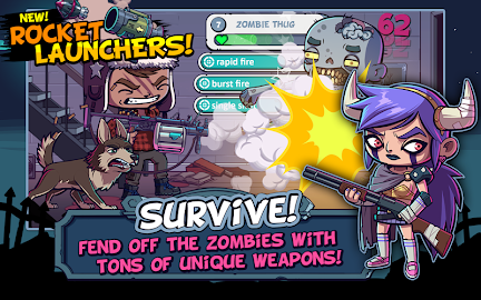ZOMBIES ATE MY FRIENDS Screenshot 2