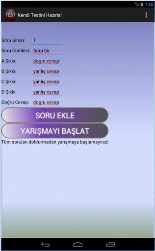 【免費益智App】Test Hazırla-APP點子