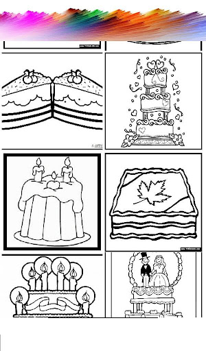 Cake Coloring