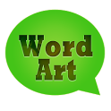 WordArt Chat Sticker icon