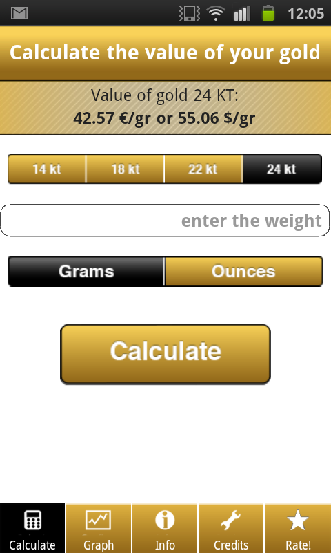Gold Price Calculator Live Pro Android Apps on Google Play