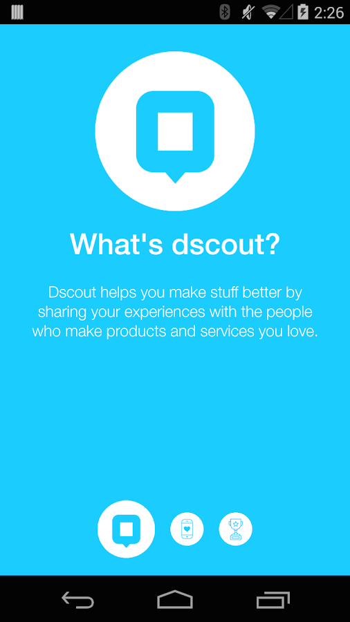 dscout - screenshot