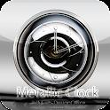 MetallicClockWidget logo