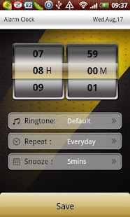 Transformers clock widget - screenshot thumbnail