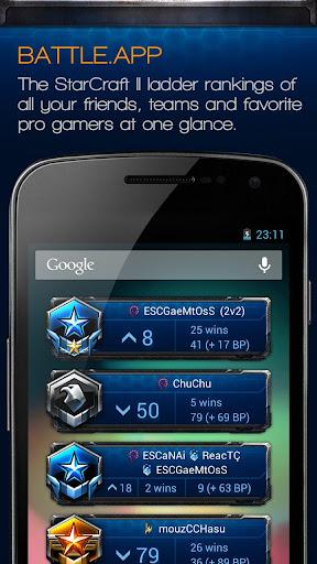 Battle.App for StarCraft II