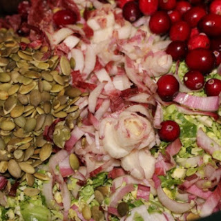Shredded Brussels Sprouts and Endive Slaw with Champagne Vinaigrette Recipe