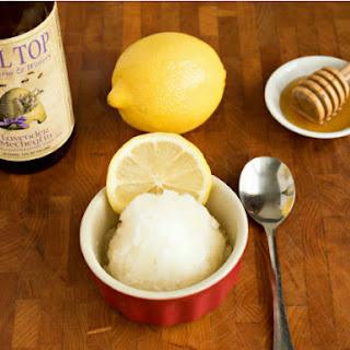 Lemon Lavender Mead Sorbet