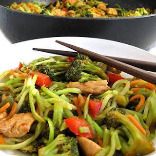 Skinny Chicken and Broccoli Stir-Fry.
