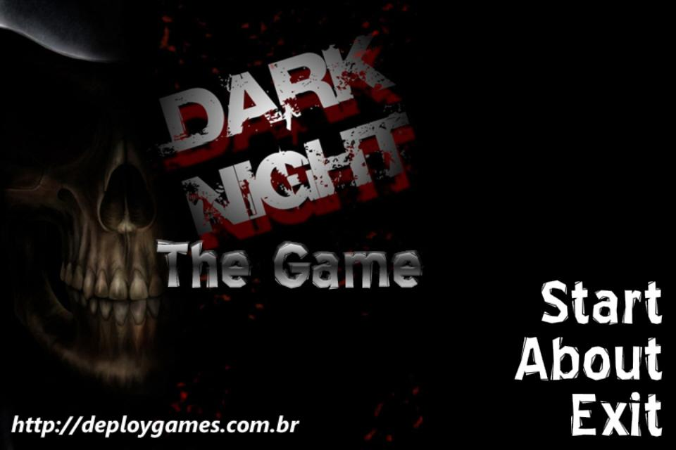 the black night game