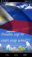 Screenshot of 3D Philippines Flag LWP +
