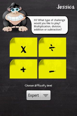 Monkey Math Pro - screenshot
