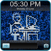 Pixel Go Locker EX Theme