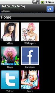 Nicki Minaj Fan App - screenshot thumbnail