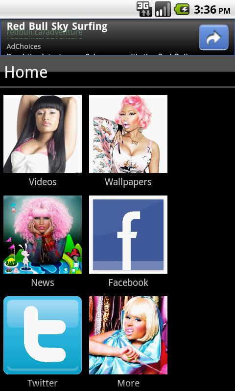 Nicki Minaj Fan App - screenshot