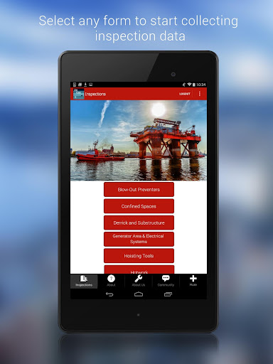 Oil Gas Rig Inspection App