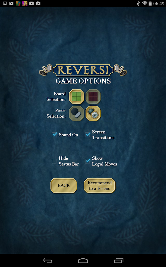 Reversi Free - screenshot
