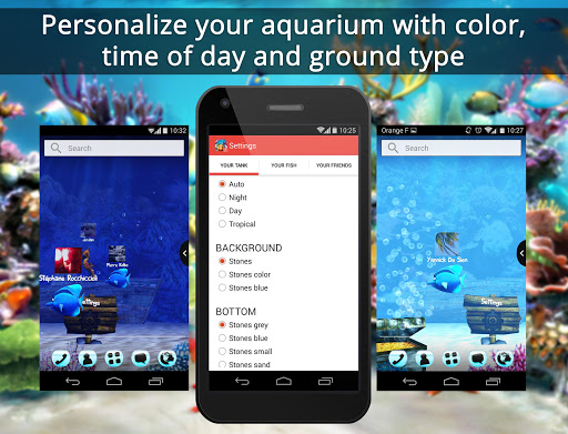 玩免費個人化APP|下載UR 3D Aquarium Friends Live app不用錢|硬是要APP