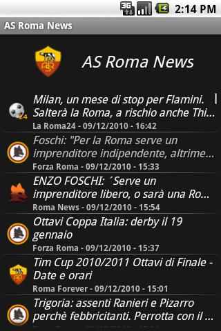 zNews - ASRoma - screenshot