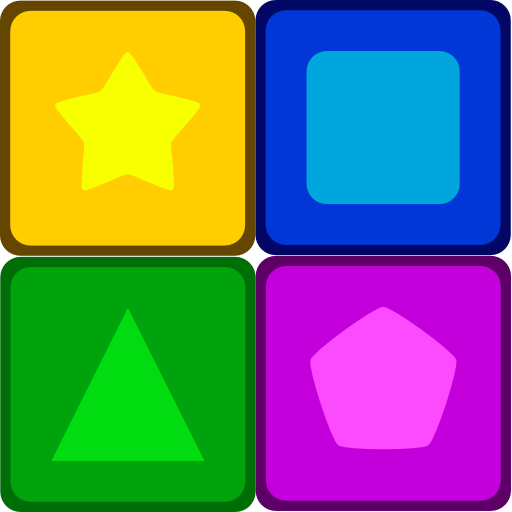 Colors and Shapes LOGO-APP點子