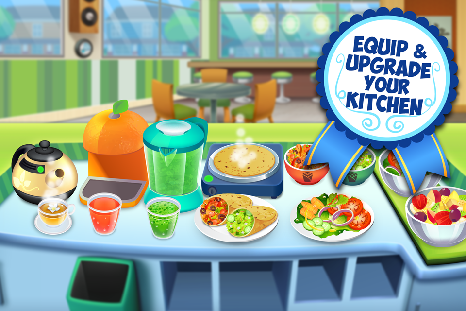 My Salad Bar - Healthy Food Shop Manager- screenshot