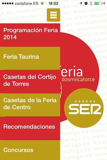 Feria Málaga 2014 Cadena SER