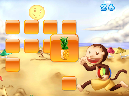 【免費教育App】Matching Monkey Game for Kids-APP點子