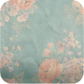 retro vintage flower wallpaper