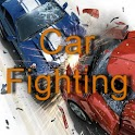 Car fighting icon