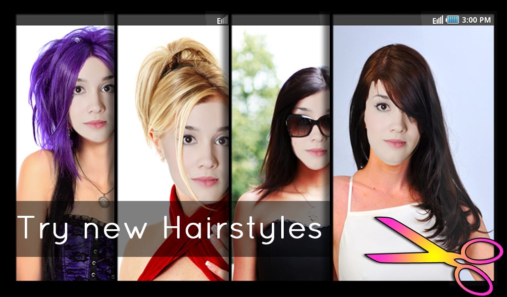 Enjoyable Hairstyles Fun And Fashion Android Apps On Google Play Short Hairstyles Gunalazisus
