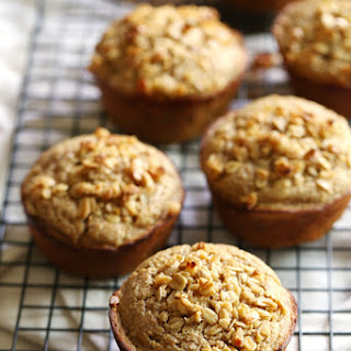 Caramelized Banana Oat Muffins
