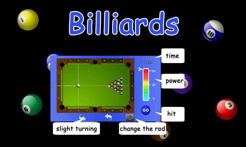 Billiard - screenshot