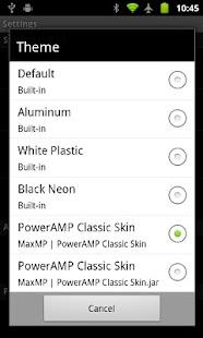 Poweramp Classic Skin