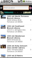 Screenshot of Torrance Library