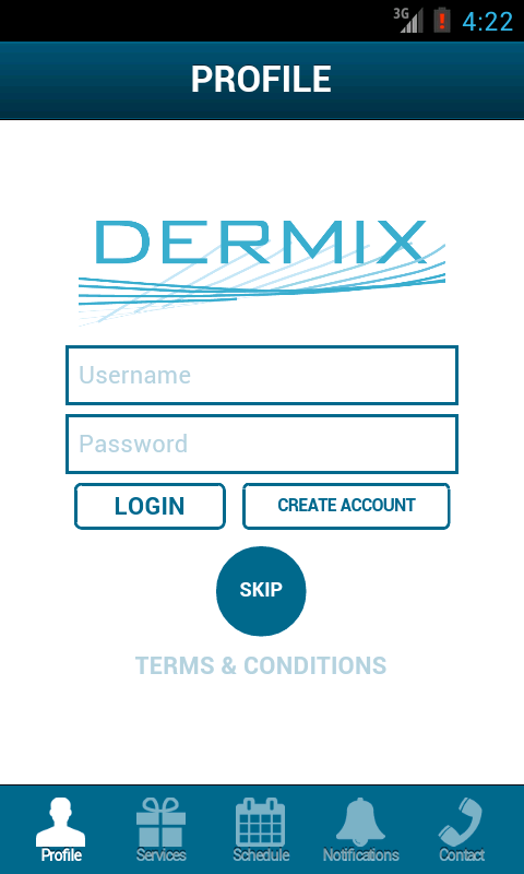 Dermix Institute - screenshot