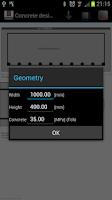 Screenshot of ConcreteDesign
