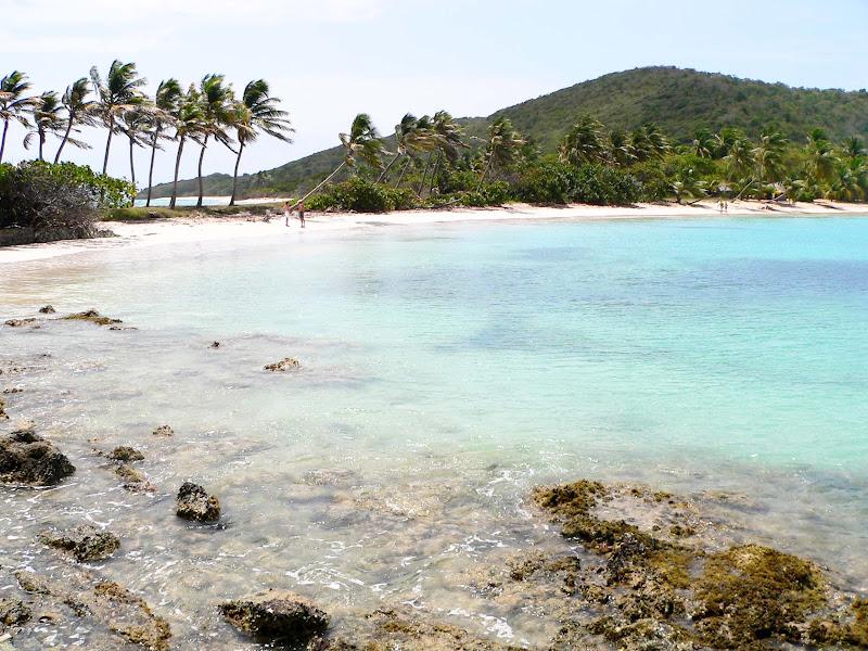 The beach at Mayreau, Grenada.